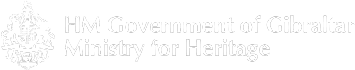 HM Government of Gibraltar Ministry of Heritage Logo